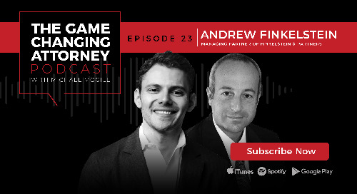 Episode 23 — Andrew Finkelstein — Building The Law Firm of the Future