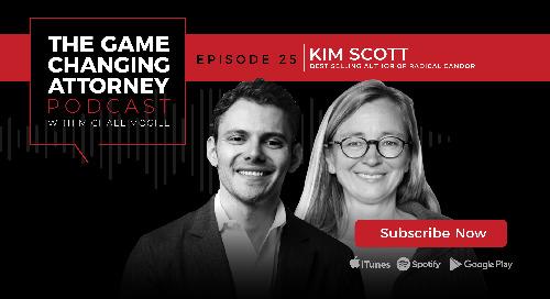 Episode 25 — Kim Scott — Radical Candor: How to be a Kickass Boss