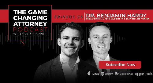 Episode 28 — Ben Hardy — Personality Isn't Permanent