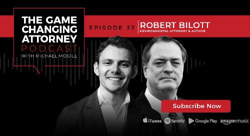 Episode 33 — Robert Bilott — Poisoned Water, Corporate Greed: The 20-Year Battle Against DuPont