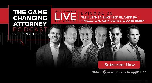 Episode 35 — Legal Legends LIVE 2.0