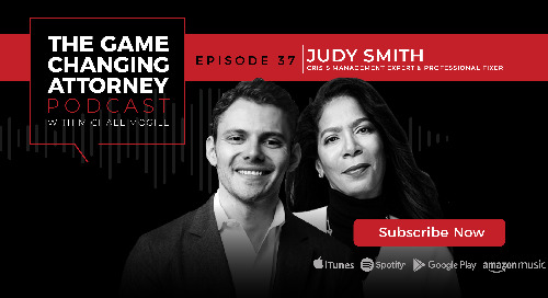 Episode 37 — Judy Smith — Managing Crisis Like a Professional Fixer