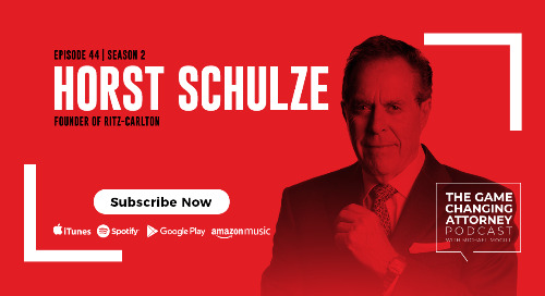 Episode 44 — Horst Schulze — Excellence Wins: Become the Best in a World of Compromise