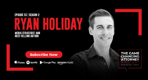 Episode 53 — Ryan Holiday — The Obstacle Is the Way