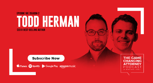 Episode 58 — Todd Herman — The Alter Ego Effect: The Power of Secret Identities to Transform Your Life
