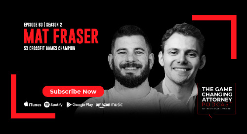 Episode 63 — Mat Fraser — The Fittest Man on Earth