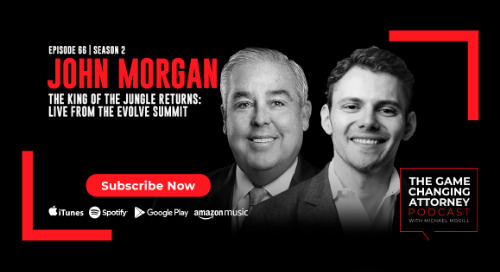 Episode 66 — John Morgan — The King of the Jungle Returns: LIVE from the EVOLVE Summit