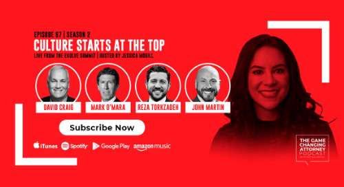 Episode 67 — Culture Starts at the Top: LIVE from the EVOLVE Summit