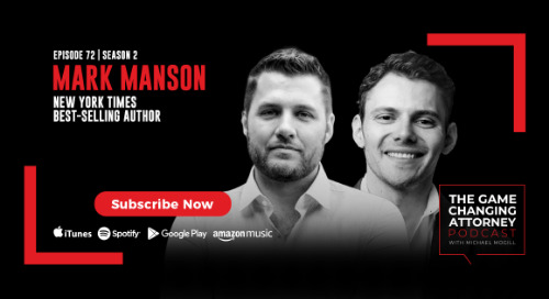 Episode 72 — Mark Manson — The Subtle Art of Not Giving a F*ck