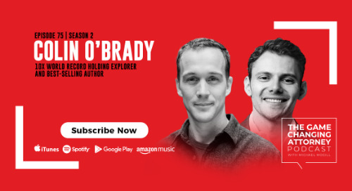 Episode 75 — Colin O'Brady — The Impossible First: From Fire to Ice – Crossing Antarctica Alone