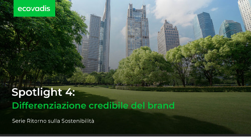 Spotlight 4: differenziazione credibile del brand