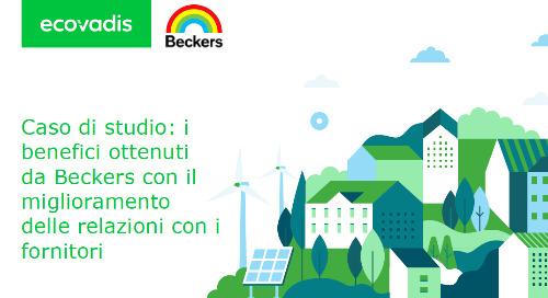 Caso di studio: i benefici ottenuti da Beckers con il miglioramento delle relazioni con i fornitori