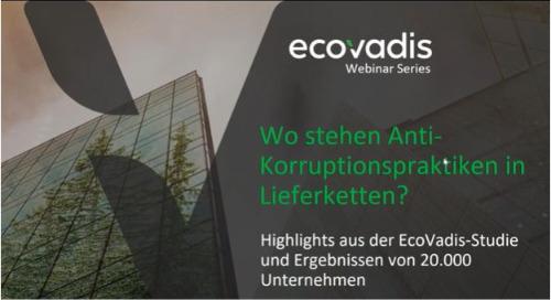 Expertenwebinar - Wo stehen Anti-Korruptionspraktiken in Lieferketten?