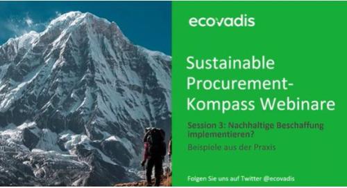 Nachhaltige Beschaffung effektiv implementieren