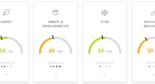 EcoVadis Ratings: Globale, verlässliche Bewertungen