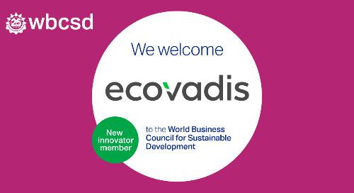EcoVadis und World Business Council for Sustainable Development setzen sich gemeinsam für die Reduzierung der Scope-3-Emissionen ein