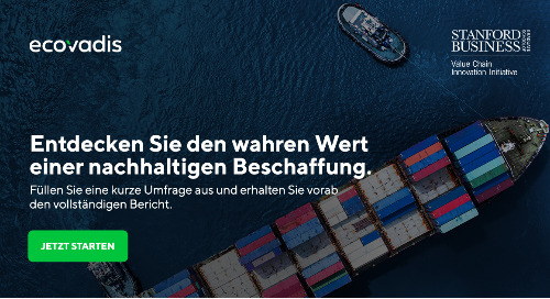 Befragung zum Sustainable Procurement Barometer 2021 gestartet