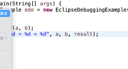 How to Debug Java Code Faster with Eclipse