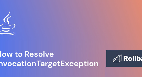How to Resolve InvocationTargetException in Java