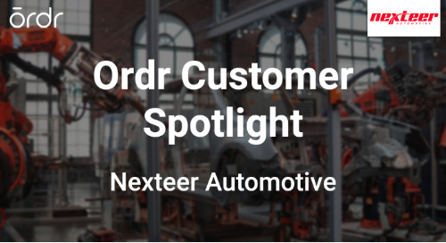 Ordr Customer Spotlight: Nexteer Automotive