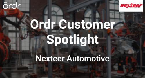 Ordr Customer Spotlight: Nexteer Automotive