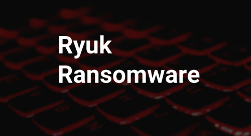 Ryuk Ransomware Detection