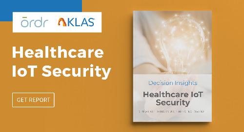 KLAS- Healthcare IoT Security Report