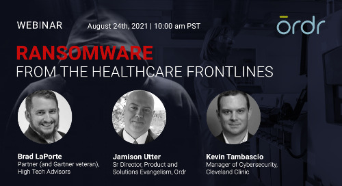 Ransomware From the Healthcare Frontlines