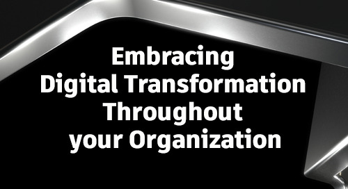 AU Executive Experience Sessions: Embracing Digital Transformation