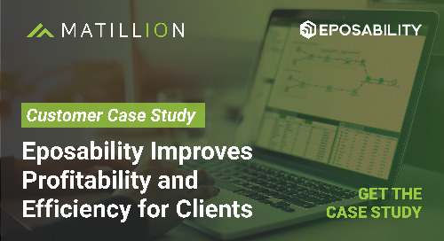 Eposability improves profitability and efficiency for clients