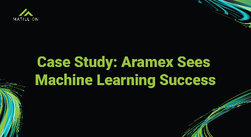 Hear how Aramex prepares data for 200 machine learning models that make 500K predictions a day