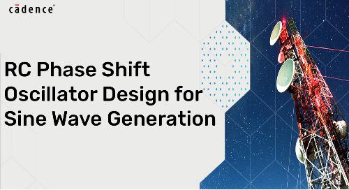 RC Phase Shift Oscillator Design for Sine Wave Generation