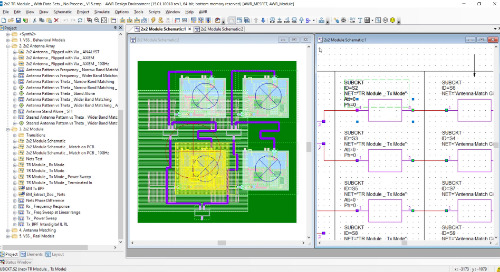 T/R Microwave Module Design Flow With AWR Software