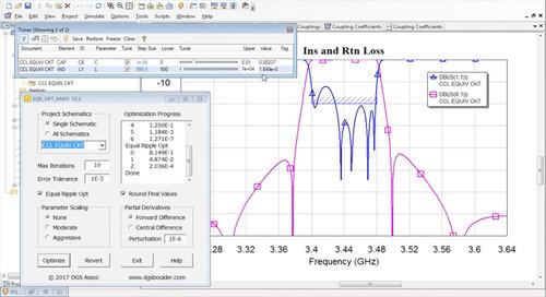 An Enhanced Design Flow for Cavity Combline Filters