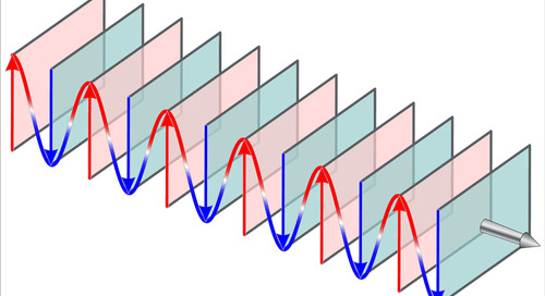 The Generation of Standing Waves in the Dielectric Medium