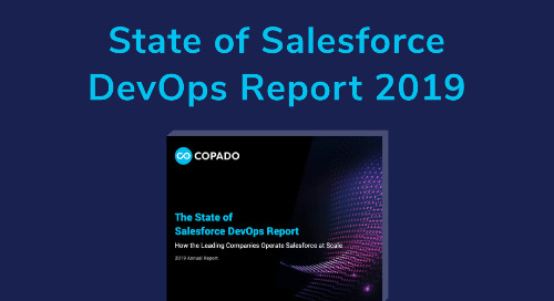 The State of Salesforce DevOps Report - 2019
