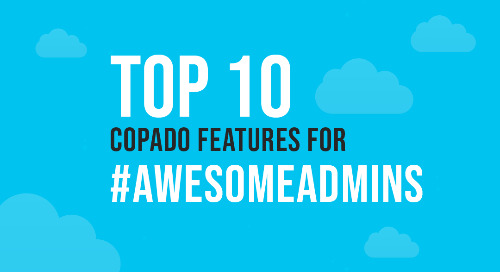 Top 10 Copado Features for #AwesomeAdmins