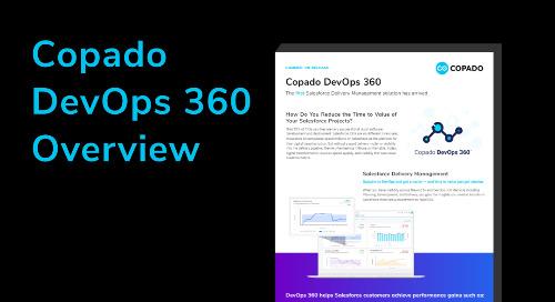 Copado DevOps 360 Overview