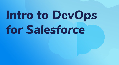 Intro to DevOps for Salesforce
