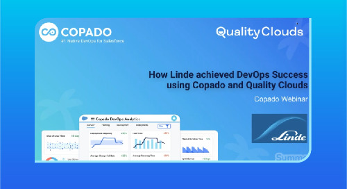 How Linde achieved DevOps Success using Copado and Quality Clouds