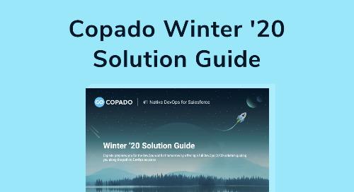 Copado Winter '20 Solution Guide