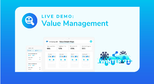 Winter '21 Live Demo: Value Management