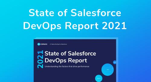 2021 State of Salesforce DevOps Report