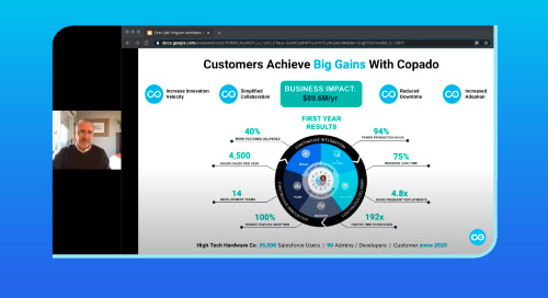 Accelerate DevOps ROI  Get More Value, Faster with Copado Program Architects