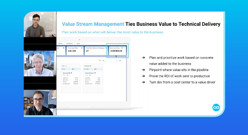 Using Value Stream Management to Optimize Salesforce Transformations