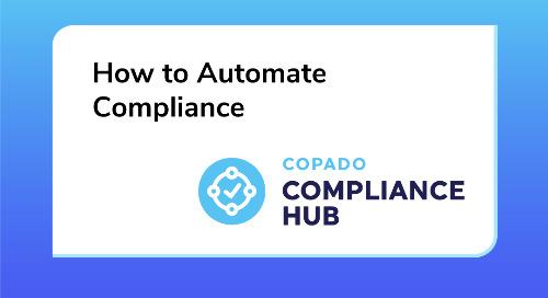 How to Automate Compliance  Live Demo of Copado Compliance Hub