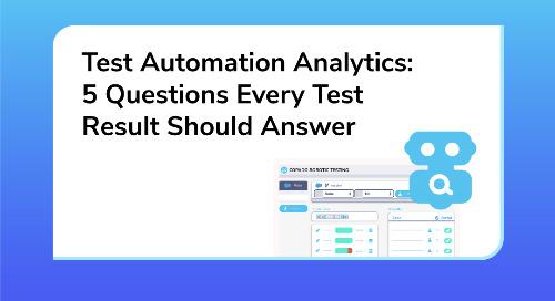 Test Automation Analytics