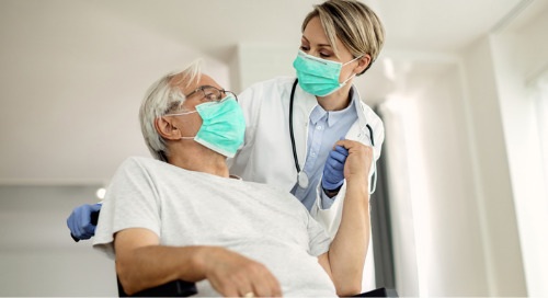 Protecting extended care residents from flu