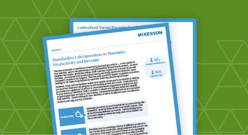 Standardize lab operations to maximize productivity & revenue