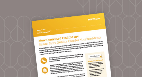 PointClickCare®: More connected healthcare means more quality care for your residents